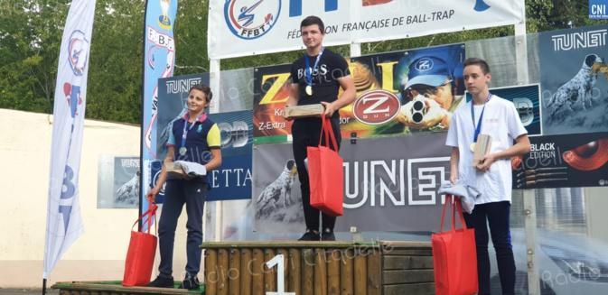 Lisandru Massiani, sacré champion de France de Ball Trap
